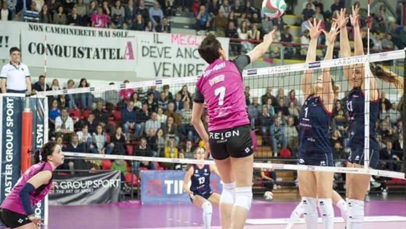 Volley: A2 Femminile,  Forlì e Soverato vincono insieme