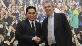 Calciomercato, Moratti: «Mancini resta all'Inter»