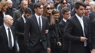 I funerali di Cesare Maldini: il calcio piange un grande uomo di sport