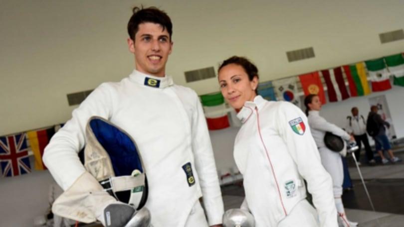 Scherma: Bonessio e Michele vincono la prova mista di Coppa del Mondo di pentathlon