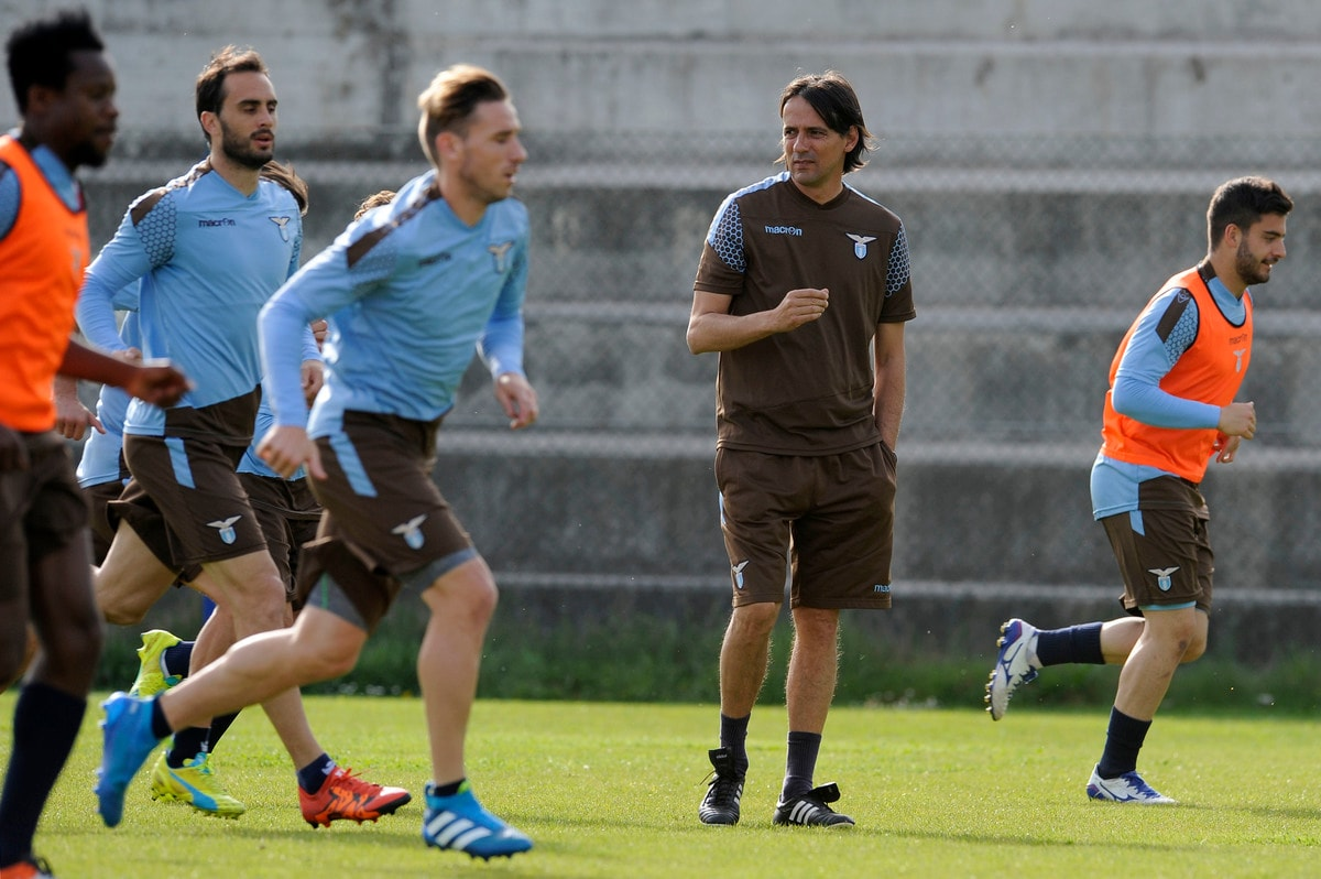 Lazio, primo allenamento con Simone Inzaghi