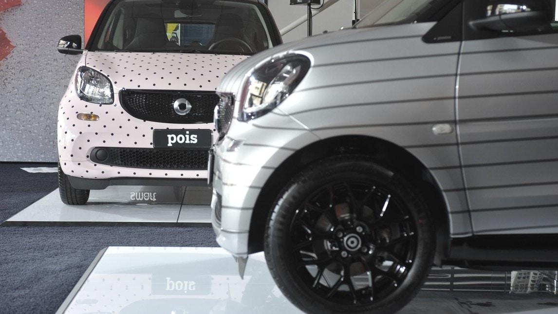 Le nuove fashion Smart by Garage Italia Customs
