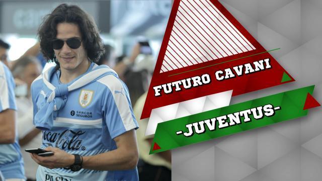 Juventus, Cavani non esclude l'addio al Psg