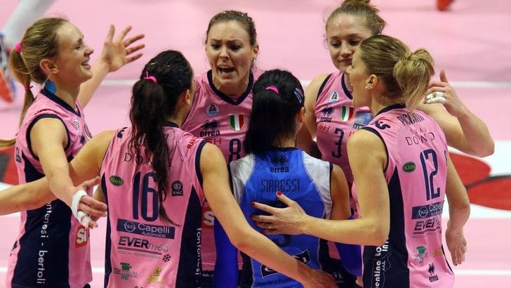 Volley donne, Casalmaggiore vince la final four 2016