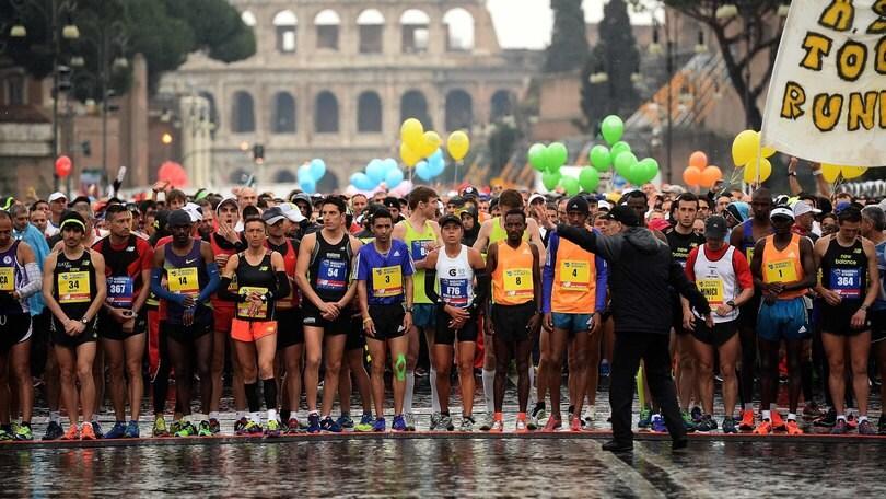 A Roma si corre la Maratona Jubilee Edition