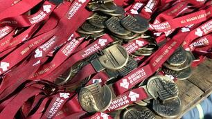 Maratona di Roma, quante medaglie per i corridori