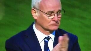 Leicester, Ranieri in lacrime dopo la vittoria: il miracolo continua