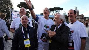 Maratona di Roma, c'è anche Malagò in gara