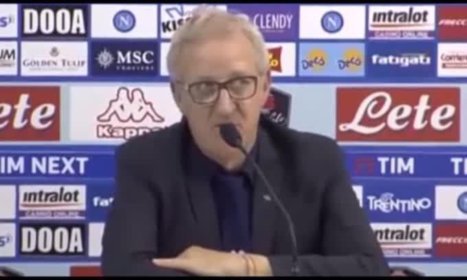 """Delneri: """"Gol del Napoli viziato da un fallo"""""""