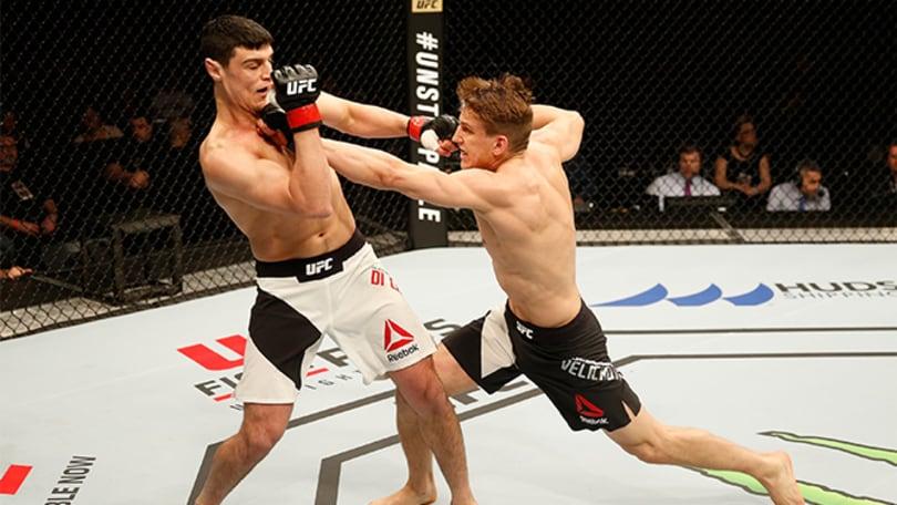 MMA, Di Chirico sconfitto ai punti nell'UFC