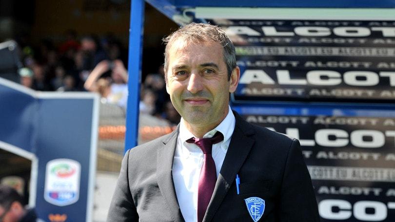 Serie A Empoli, Giampaolo: «Miglioriamo la classifica»
