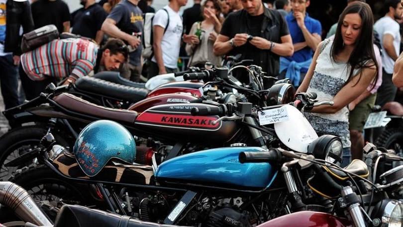 Special cafe racer e scrambler, appuntamento a Roma