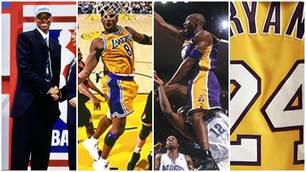 NBA Los Angeles Lakers, la carriera di Bryant in 20 scatti scelti da Kobe