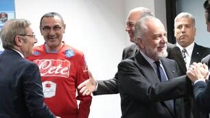 Napoli, De Laurentiis e Sarri: tutto pronto per il ritiro estivo