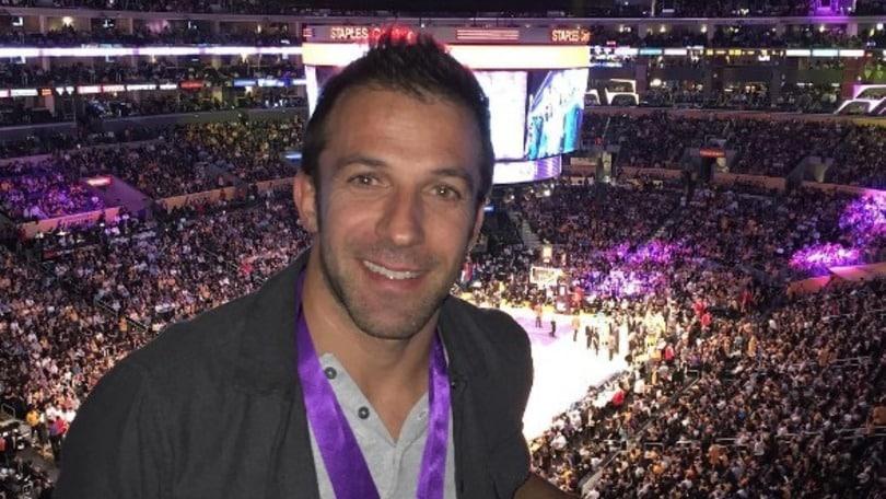 Basket, Del Piero all'ultima di Kobe Bryant: «Non la dimenticherò mai»