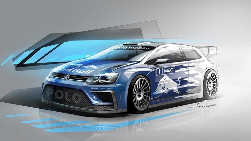Volkswagen Polo R WRC, quota 380 cavalli