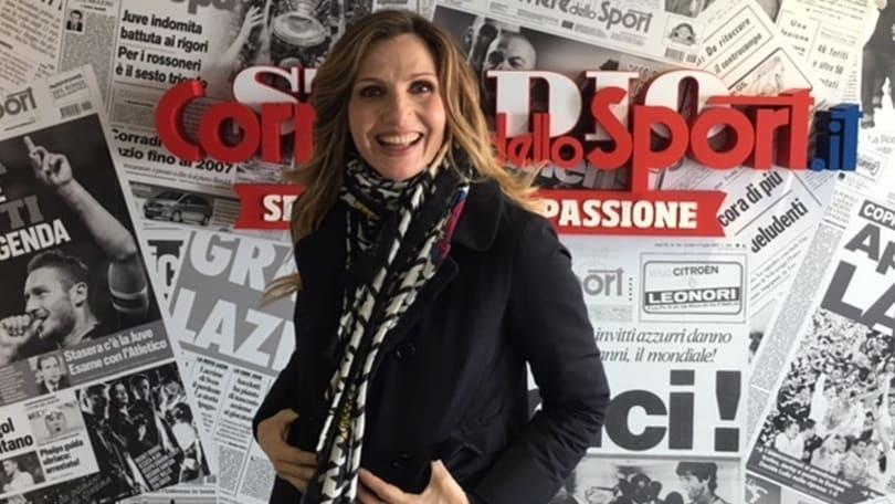 Roma, Lorella Cuccarini: «Adoro Totti ma Spalletti ha le sue ragioni. Florenzi è il migliore»