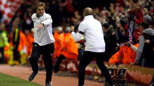 Europa League, Liverpool-Borussia Dortmund 4-3: la pazza rimonta dei Reds