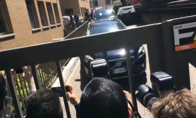 L'uscita di Gonzalo Higuain dalla Corte federale
