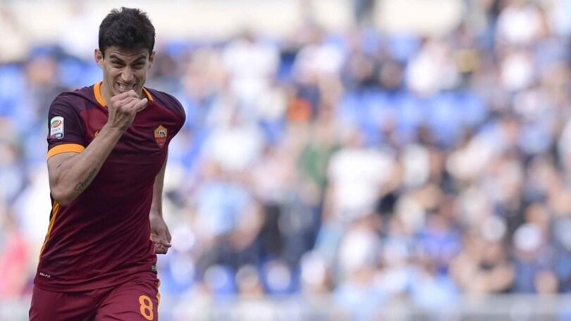Roma, Perotti lancia la sfida al Napoli: «Possiamo arrivare secondi»