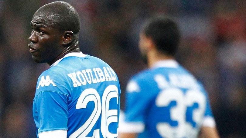 Inter-Napoli, buu razzisti a Koulibaly dagli spalti
