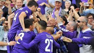 Serie A, Fiorentina-Sassuolo 3-1: Gonzalo Rodriguez e Ilicic lanciano la viola