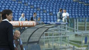 Lazio, Olimpico semivuoto per la prima in casa di Simone Inzaghi