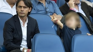 Lazio, prima in casa per Simone Inzaghi: in tribuna Pippo tifa per lui!