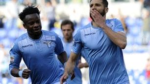 Serie A, Lazio-Empoli 2-0: Candreva-Onazi, la cura Inzaghi funziona
