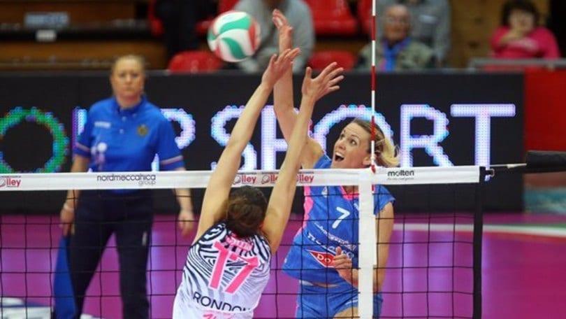 Volley: A1 Femminile, Piacenza doma Scandicci