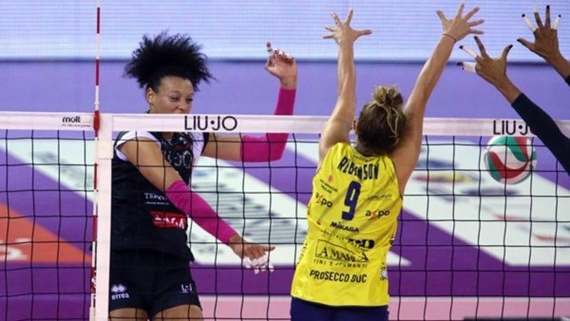 Volley: A1 Femminile,  da stasera è già tempo di Semifinali