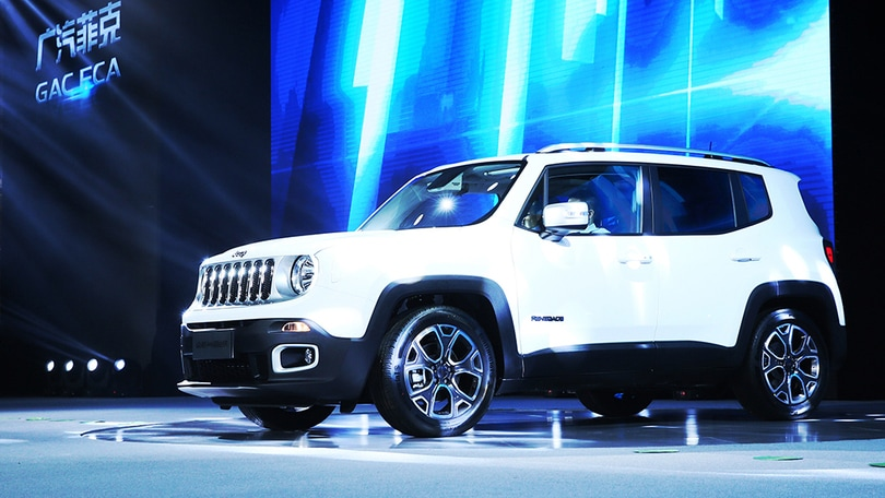 Jeep Renegade, parte la produzione in Cina