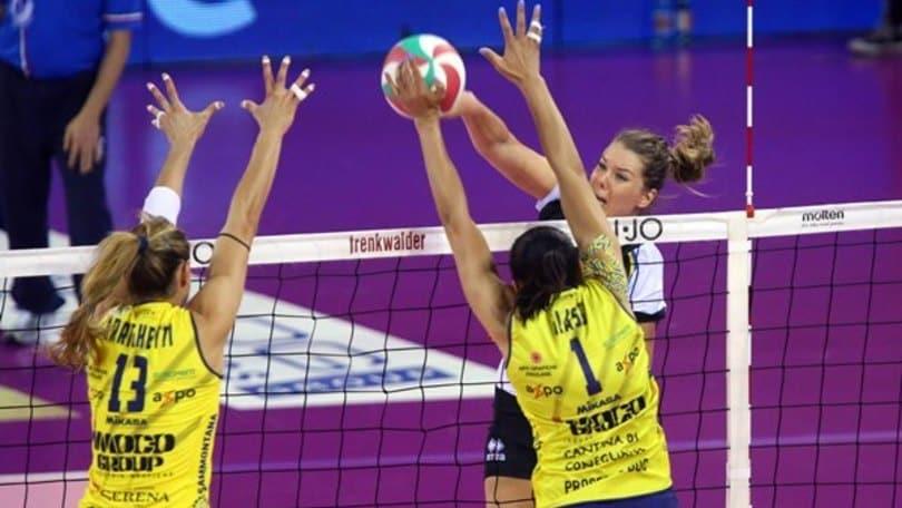 Volley: A1 Femminile,  il primo round di semifinale è di Conegliano