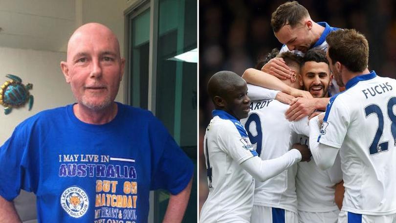 Il tifoso del Leicester non ce l'ha fatta: c'mon Foxes, vincete anche per lui