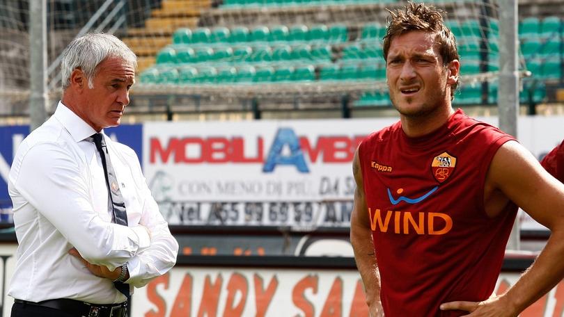 Ranieri telefona a Totti: «Dai vieni al Leicester»