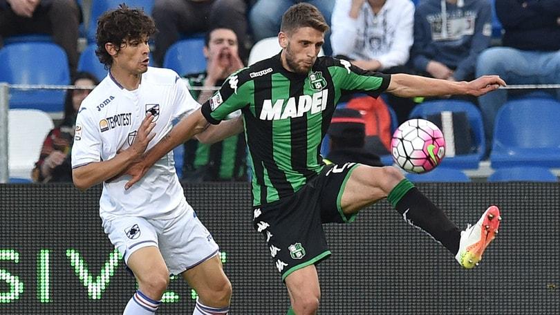 Serie A, Sassuolo-Sampdoria 0-0: Berardi fallisce il rigore della vittoria