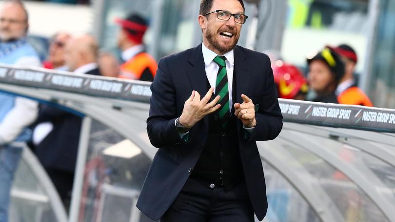 Serie A Sassuolo, Di Francesco: «E' finito il sogno Europa League»
