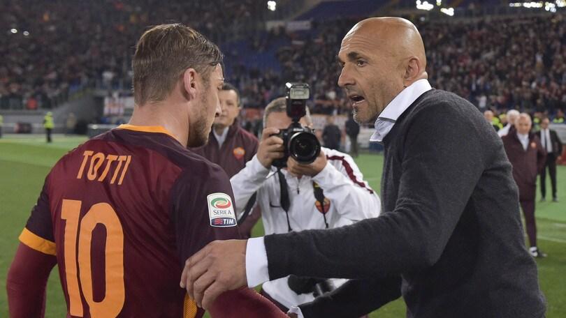 Roma, Spalletti: «Totti? Lo sto gestendo bene»