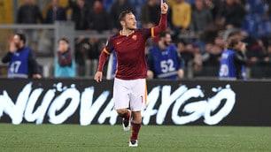 Pagelle Roma-Torino: Totti è il calcio!