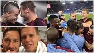Totti da favola, la Roma festeggia così il suo capitano