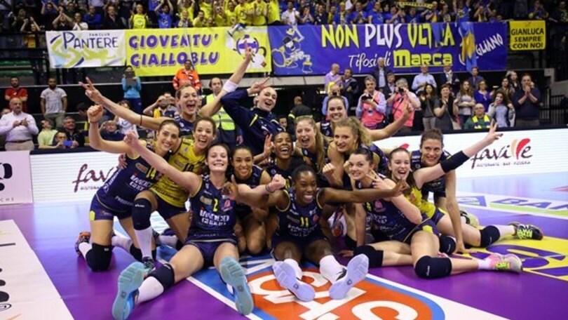 Volley: A1 Femminile, Conegliano è la prima finalista