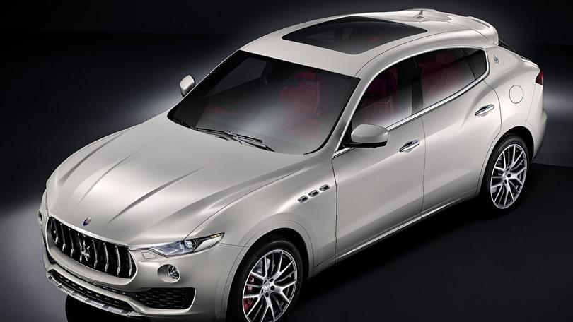 Maserati: Ecco Levante, lo squalo da off-road