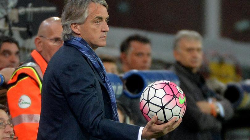 Mancini: «Se lascio l'Inter, sto a casa»