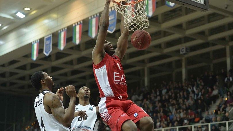 Basket, Serie A: Milano da primo posto a 1,12