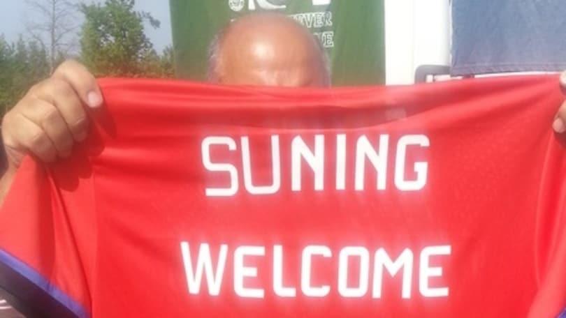Inter, ad Appiano la maglia per il Suning