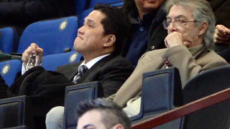 Moratti: «Cimici all'Inter? Ridicolo e fasullo»