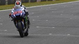 MotoGp Jerez: domina Lorenzo nelle libere, Rossi insegue
