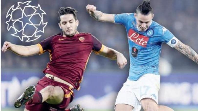 Champions League, Roma-Napoli: quella volata che vale oro