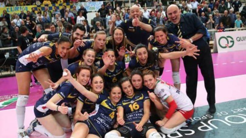 Volley: A2 Femminile, la Delta Informatica è la prima finalista