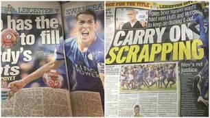 "Premier League, i tabloid ""caricano"" il Leicester"